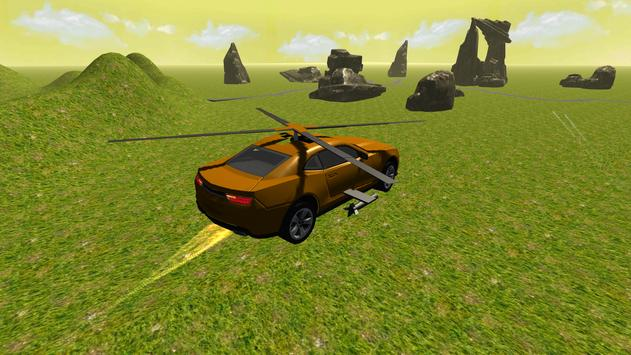 Flying Muscle Helicopter Car apk screenshot