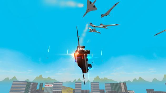 Flying Police Car: San Andreas apk screenshot