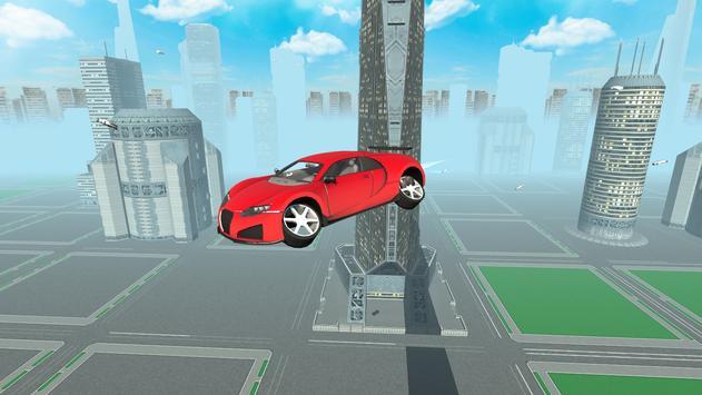 Flying Future Super Sport Car apk screenshot