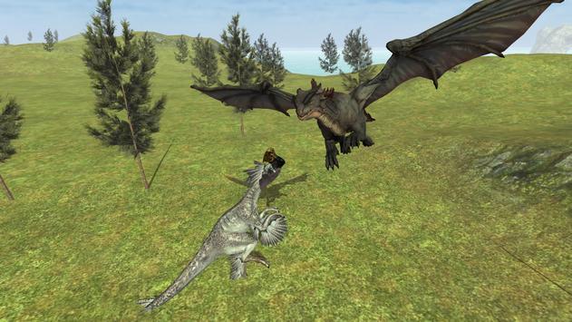 Flying Fury Dragon Simulator apk screenshot