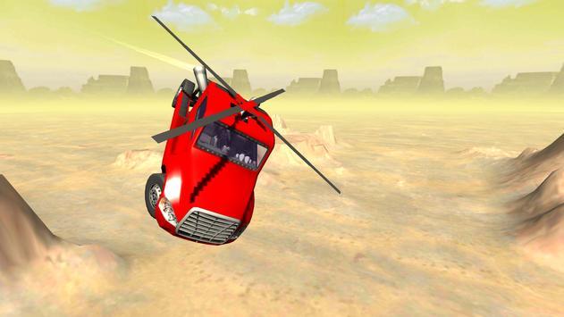Flying Helicopter Truck Flight apk screenshot