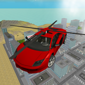 Flying  Helicopter Car 3D Free icon