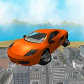 San Andreas Futuristic Car 3D icon