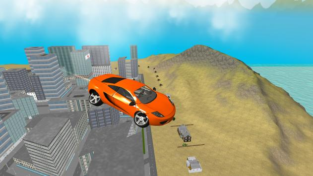 San Andreas Futuristic Car 3D poster