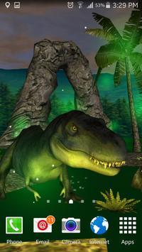 T-Rex King Dinosaur Lwp Lite apk screenshot