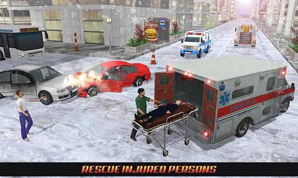 Ambulance Rescue Driving 2017 apk screenshot