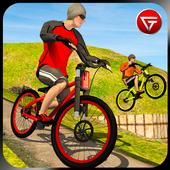 Offroad BMX Bicycle Stunt Ride 2018 Simulator icon