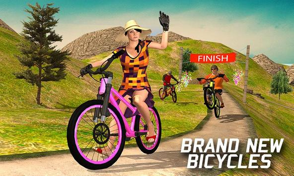 Offroad BMX Bicycle Stunt Ride 2018 Simulator poster