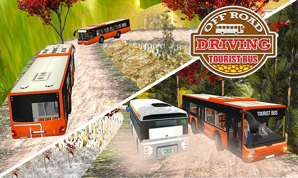 Uphill offroad tour Bus Driving Simulator poster