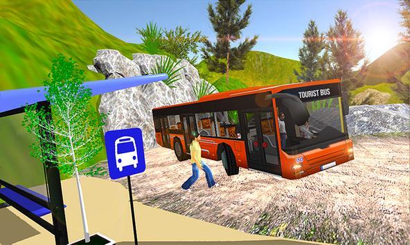 Uphill offroad tour Bus Driving Simulator apk screenshot