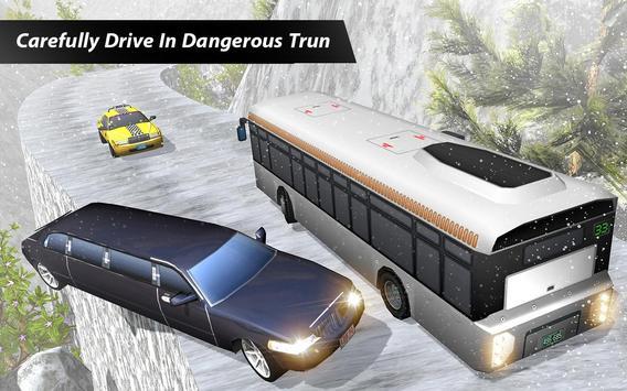 Uphill Limo Holidays Driving Snow Mountain Tracks APK