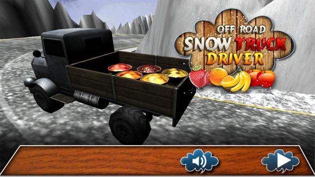 Off-Road Snow Truck apk screenshot