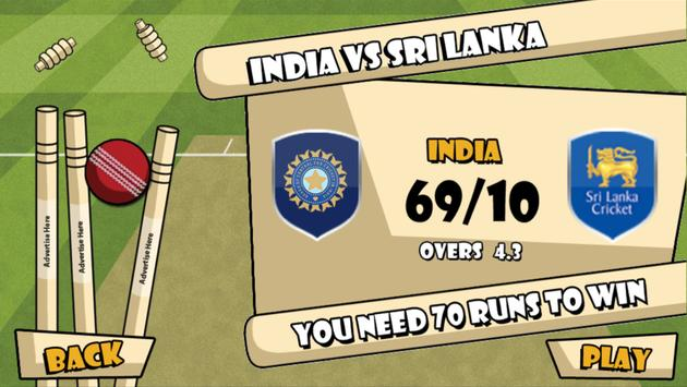 Pro Cricket #wontgiveitback apk screenshot