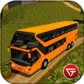 Uphill Offroad Bus Driver 2017 icon