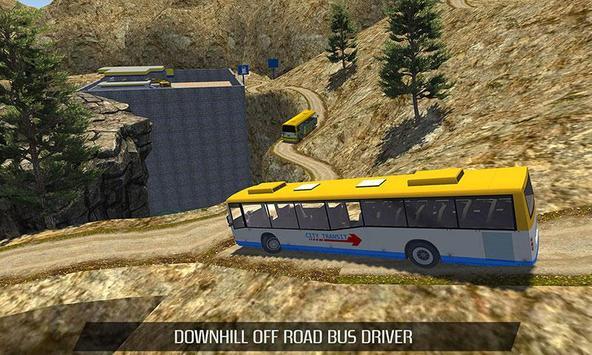 Uphill Offroad Bus Driver 2017 apk screenshot