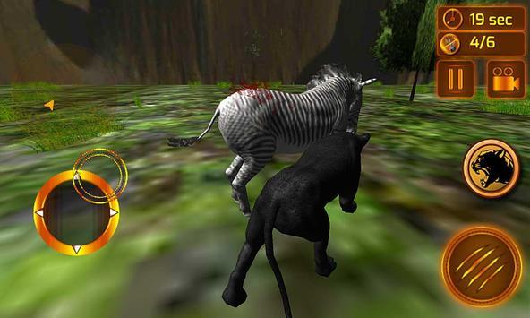 real preto pantera simulador imagem de tela 4