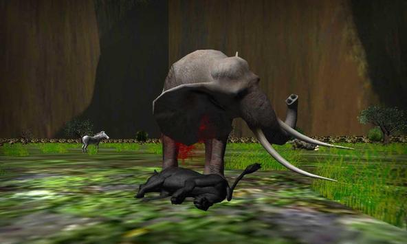 real preto pantera simulador imagem de tela 6