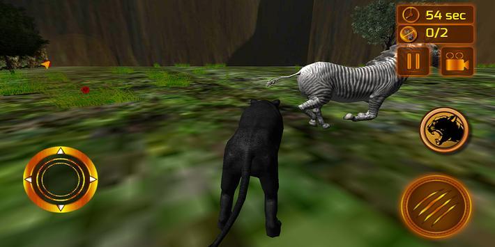 real preto pantera simulador imagem de tela 15