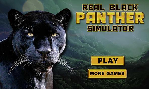 real preto pantera simulador imagem de tela 1