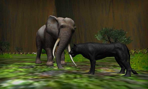 real preto pantera simulador imagem de tela 21