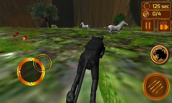 real preto pantera simulador imagem de tela 2