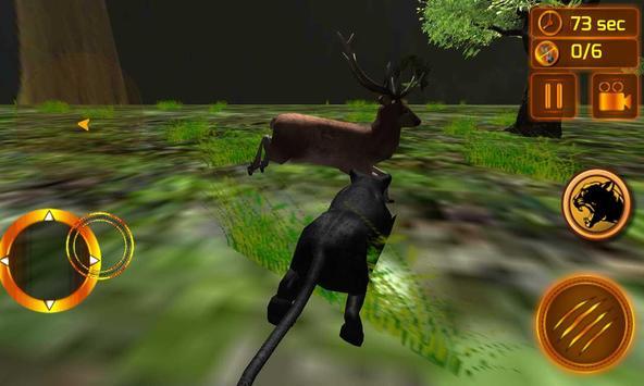 real preto pantera simulador imagem de tela 3