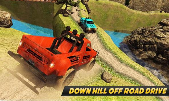 Offroad Jeep Uphill Driving - Best Jeep Game 2018 poster