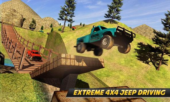 Offroad Jeep Uphill Driving - Best Jeep Game 2018 apk screenshot