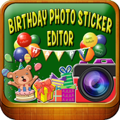 Birthday Photo Editor icon