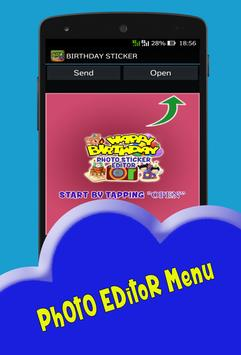 Birthday Photo Editor apk screenshot