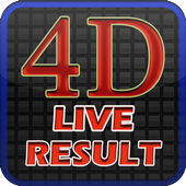 Live 4D Result icon