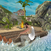 Lost Island Raft Survival Game icon