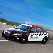 City Police Car Driving School icon