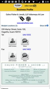The Guam Phone Book screenshot 3
