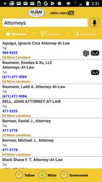The Guam Phone Book screenshot 4