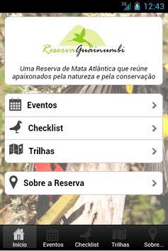 Reserva Guainumbi poster