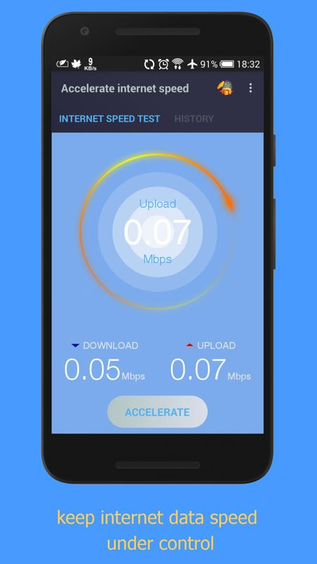 Internet speed booster prank: netspeed accelerator for android.