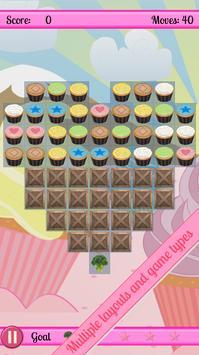 Cupcake Cascade apk screenshot