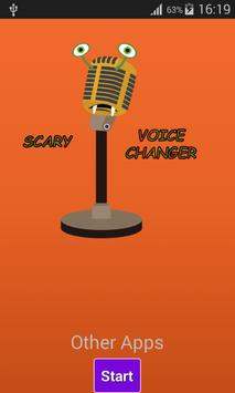 Scary Voice Changer poster