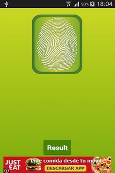 Fingerprint Mood Scanner apk screenshot