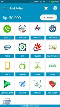 Ami Pulsa screenshot 1