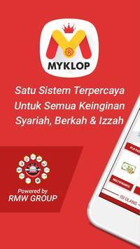 MyKLOP : Agen Pulsa, PPOB & Tiket  Termurah poster