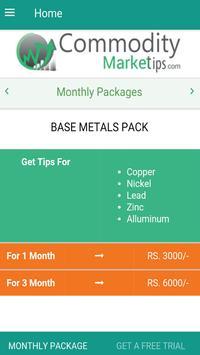 Commodity Market Tips apk screenshot