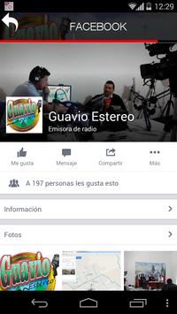 Guavio estereo apk screenshot