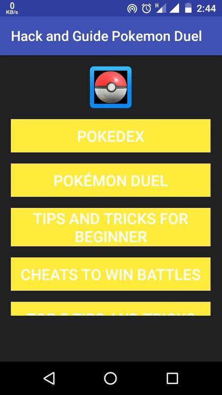 pokemon duel hack