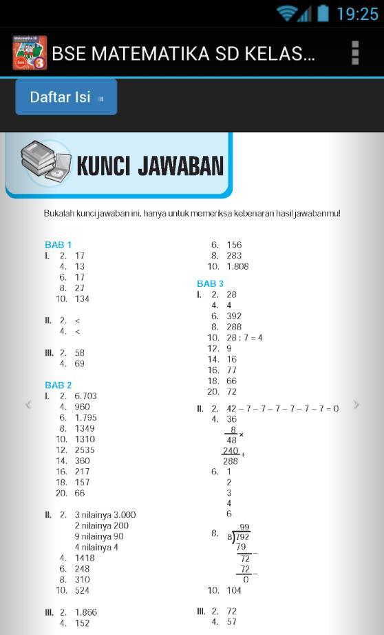 Kunci Jawaban Cerdas Berhitung Matematika Kelas 3 Ilmusosial Id