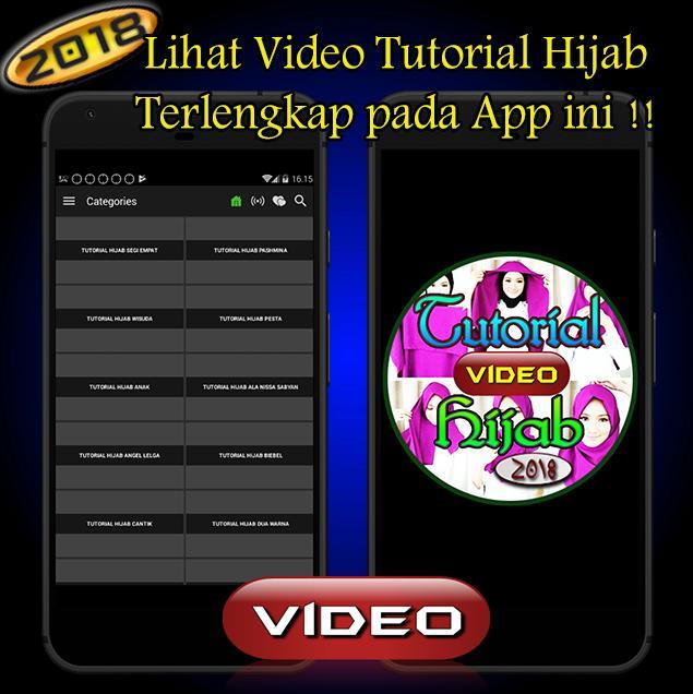 Tutorial Video Hijab Segi Empat 2018 Fur Android Apk Herunterladen