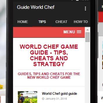 Guide World Chef poster