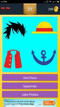 Cartoon Character Quiz poster