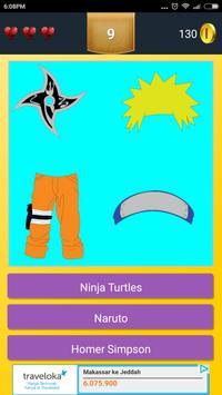 Cartoon Character Quiz apk screenshot